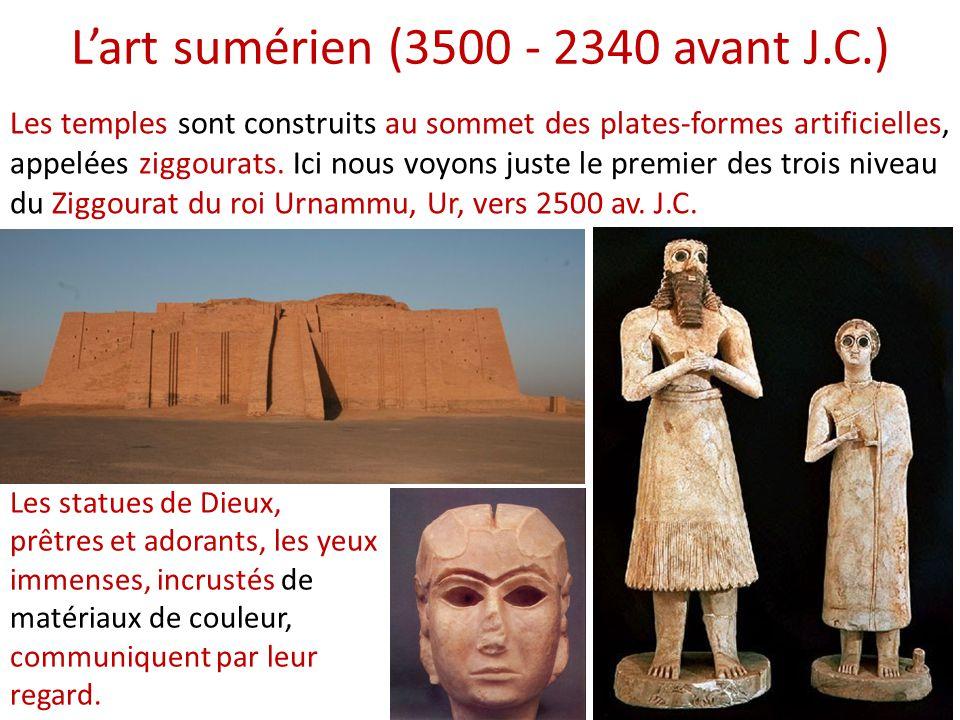L'art sumérien (3500 - 2340 avant J.C.)
