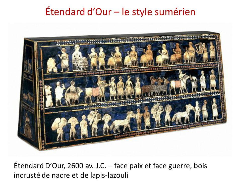 Étendard d'Our – le style sumérien