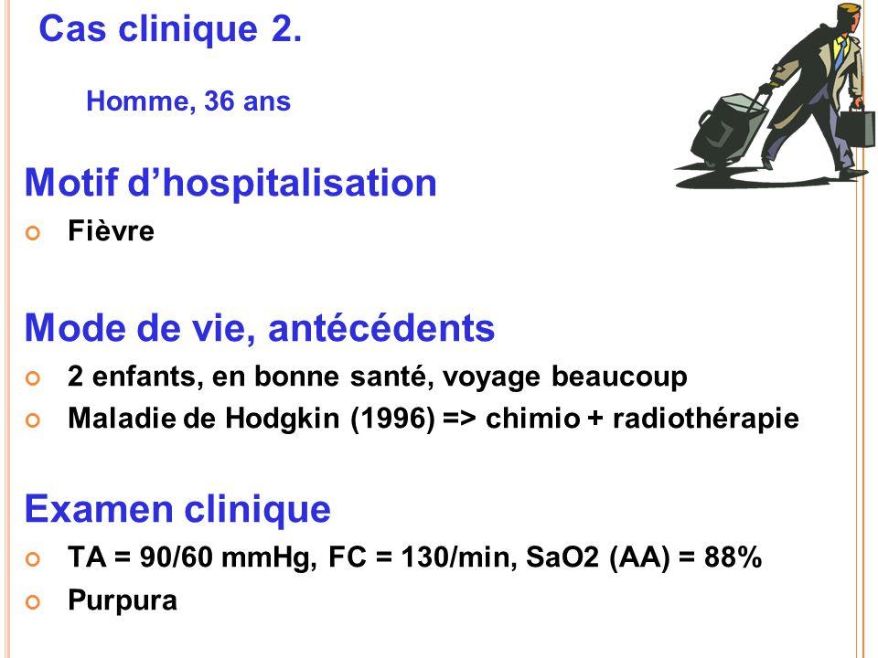 Motif d'hospitalisation
