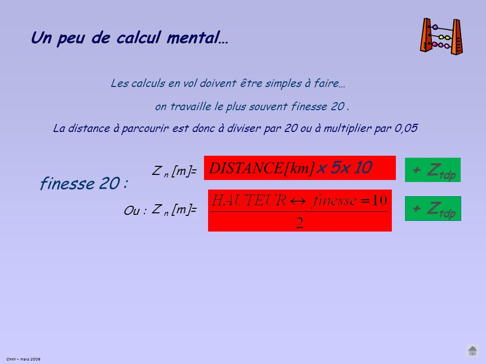 Un peu de calcul mental…
