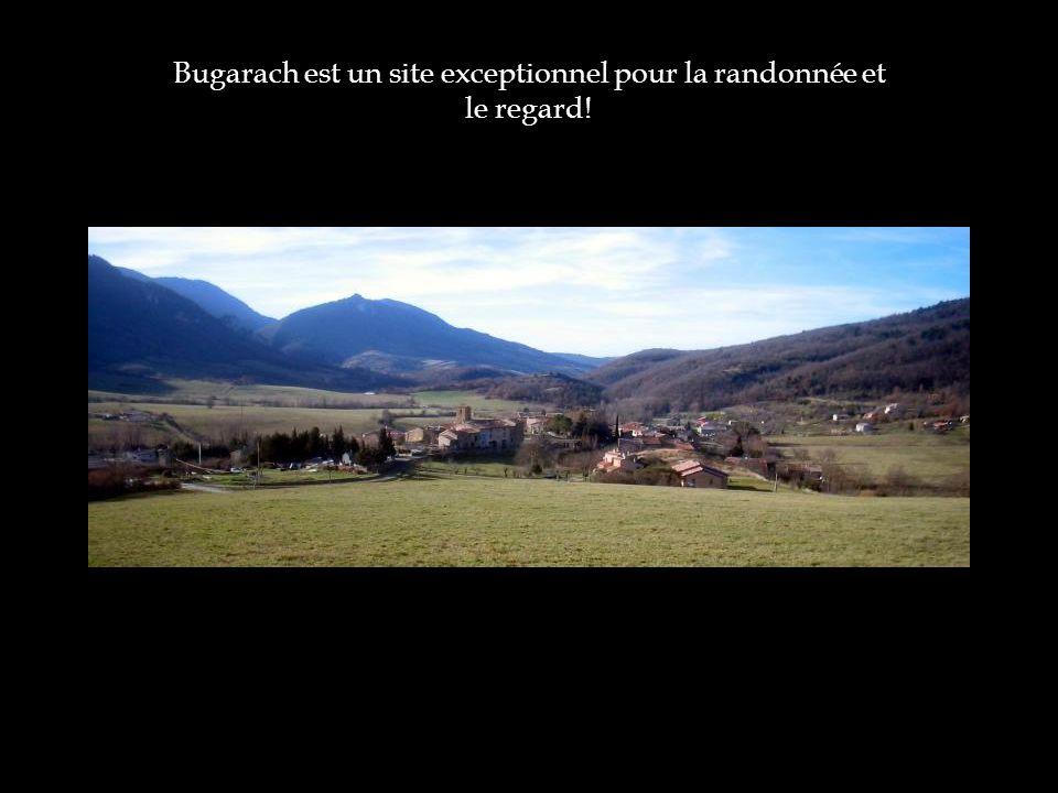 Bugarach est un site exceptionnel pour la randonnée et le regard!