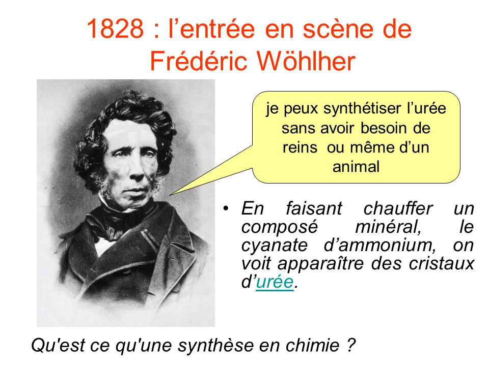 1828 : l'entrée en scène de Frédéric Wöhlher