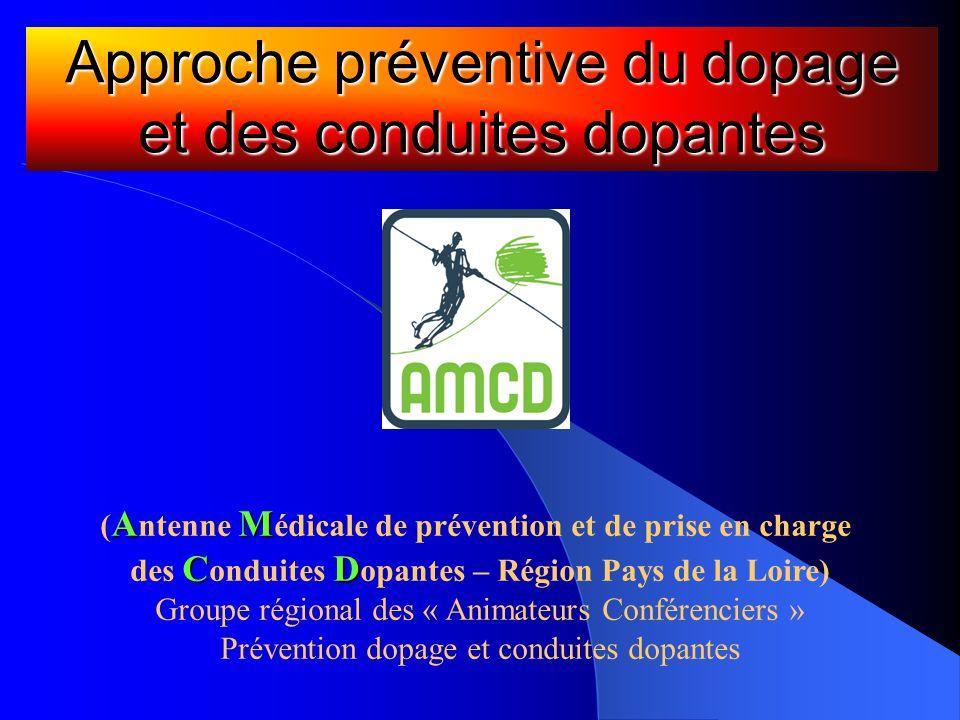 Approche préventive du dopage et des conduites dopantes