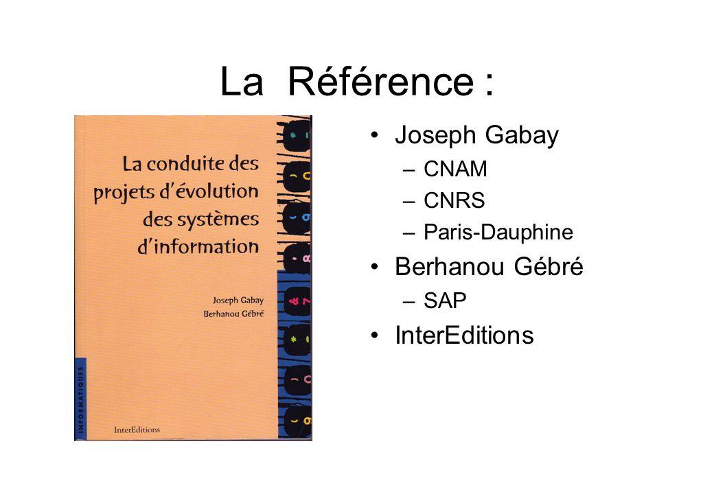 La Référence : Joseph Gabay Berhanou Gébré InterEditions CNAM CNRS