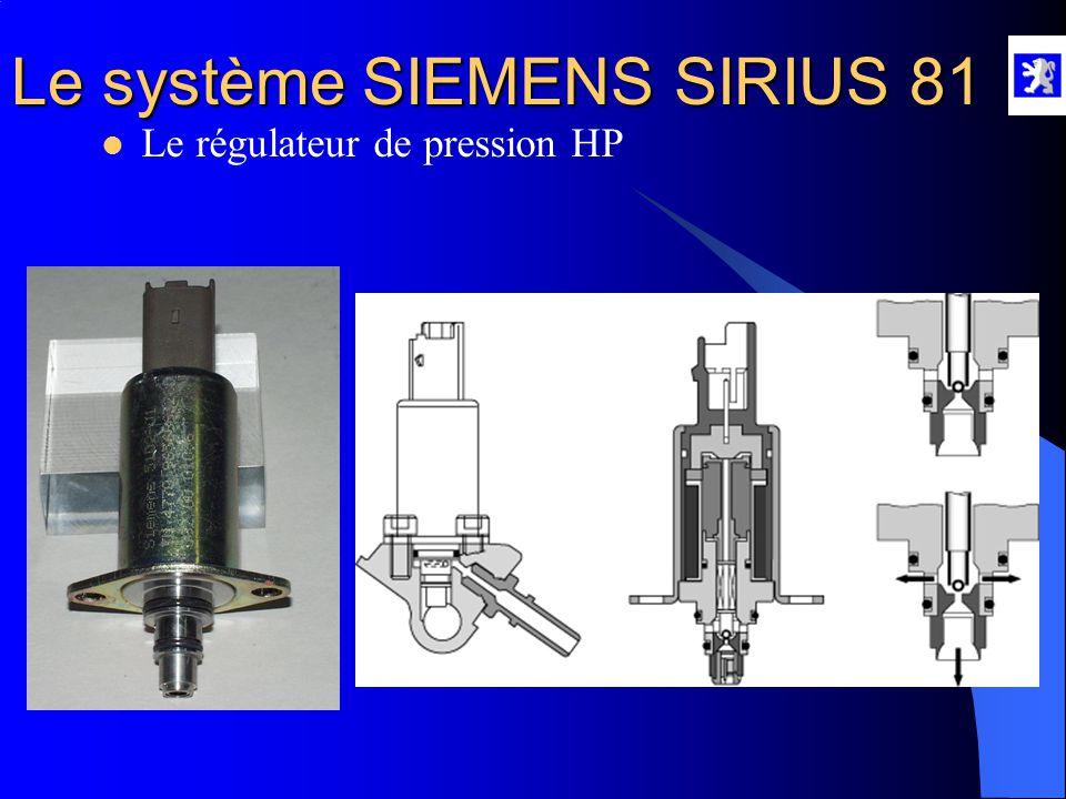 Le régulateur de pression HP