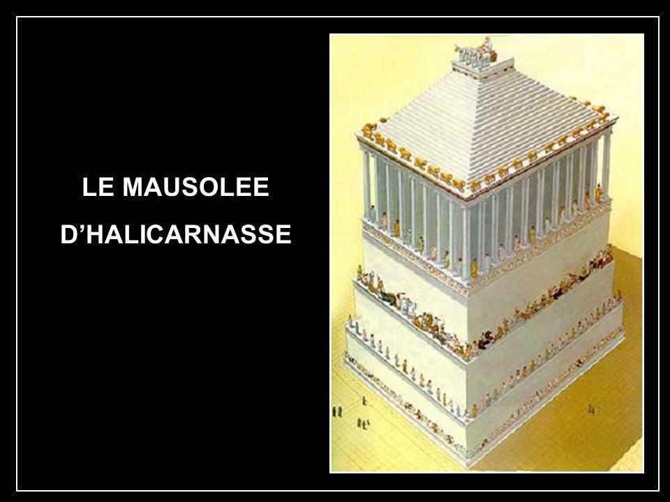 LE MAUSOLEE D'HALICARNASSE