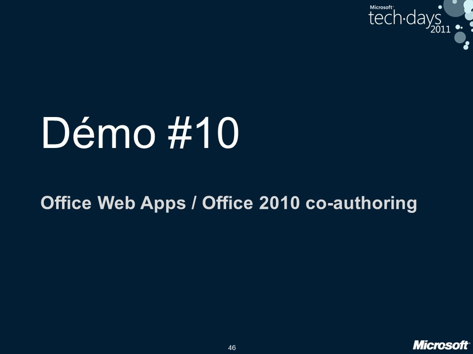 Office Web Apps / Office 2010 co-authoring