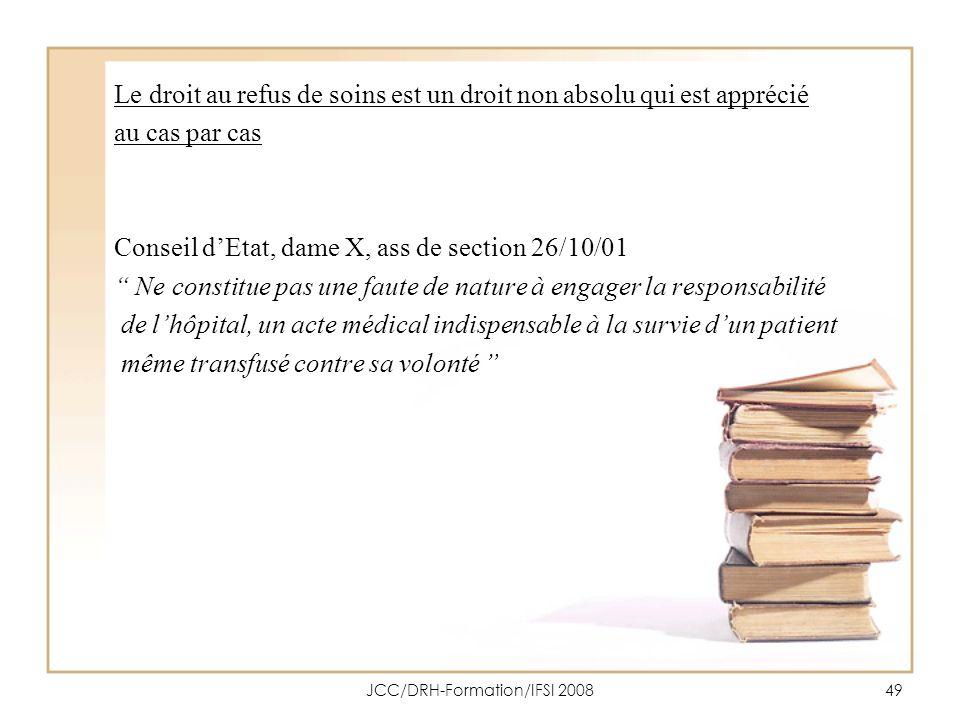 JCC/DRH-Formation/IFSI 2008