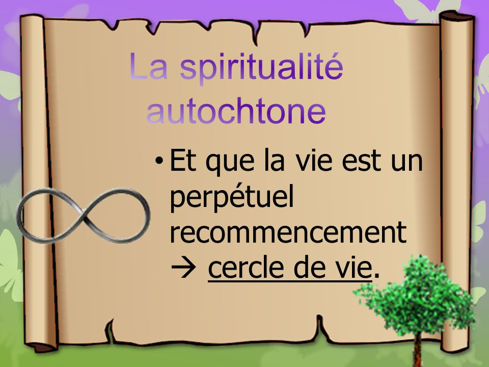 La spiritualité autochtone