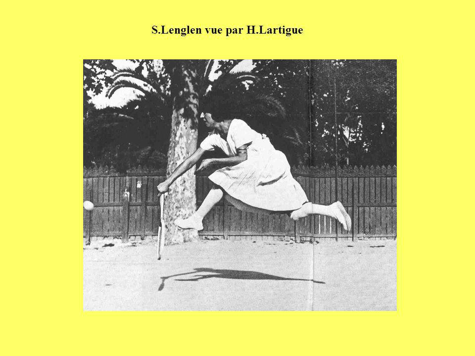 S.Lenglen vue par H.Lartigue
