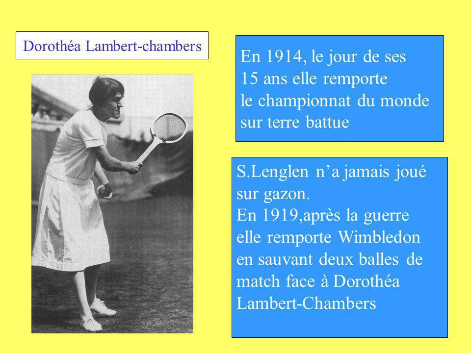 Dorothéa Lambert-chambers