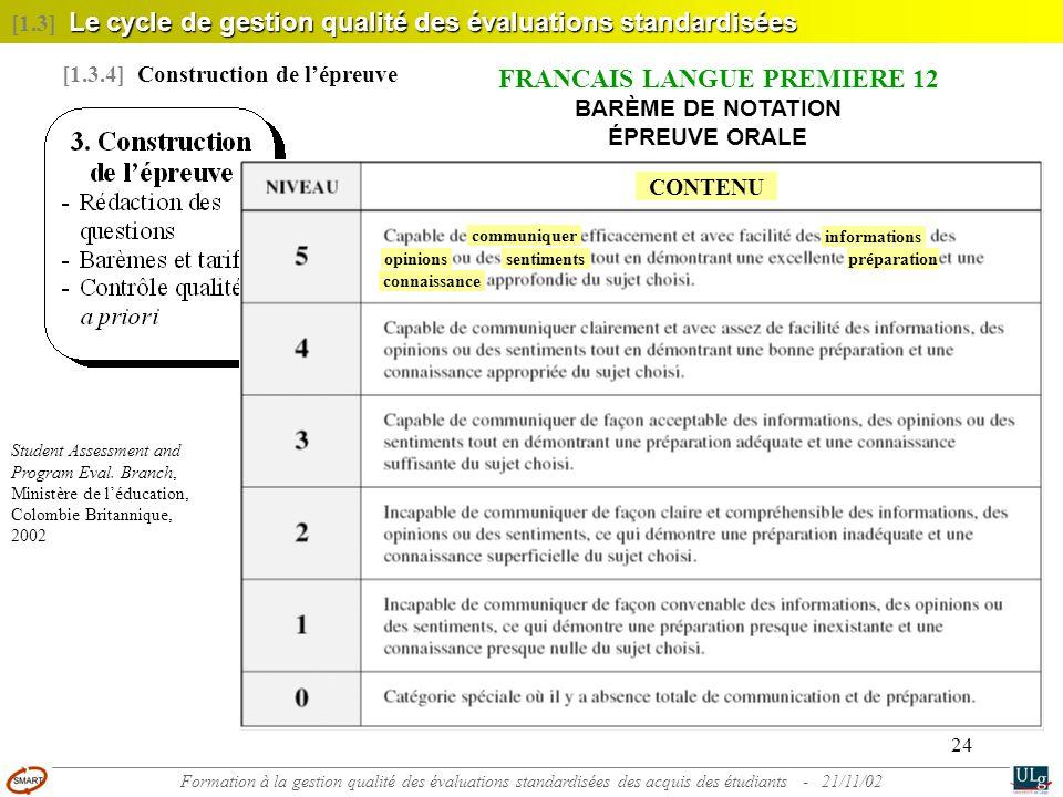 FRANÇAIS LANGUE PREMIÈRE 12