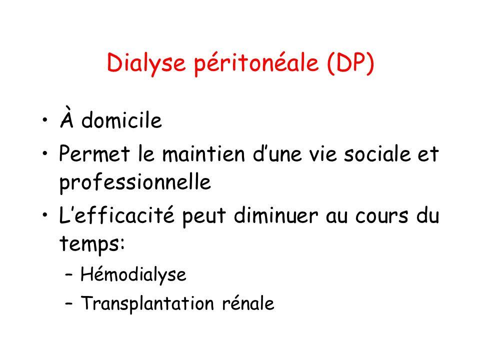Dialyse péritonéale (DP)