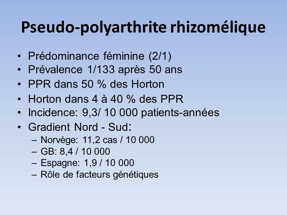 Pseudo-polyarthrite rhizomélique
