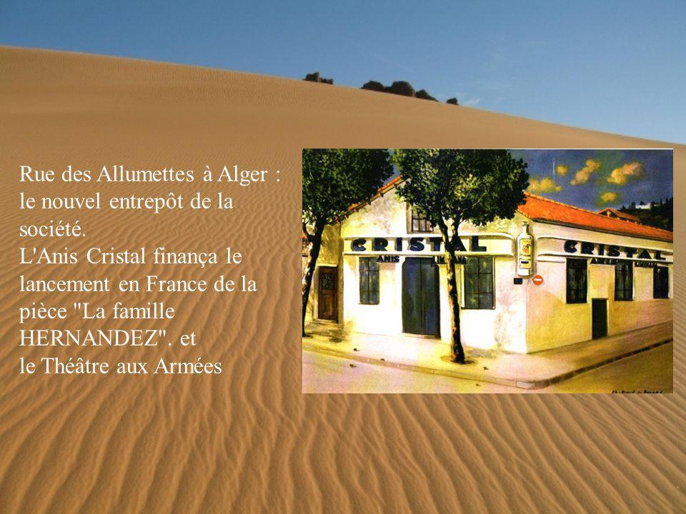 Rue des Allumettes à Alger : le nouvel entrepôt de la société