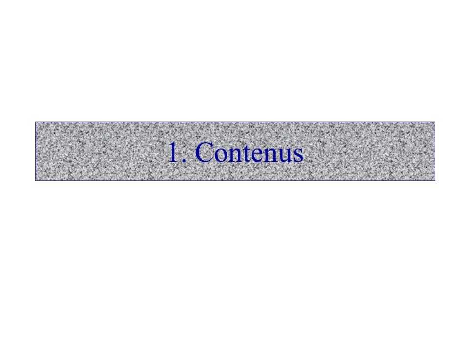 1. Contenus