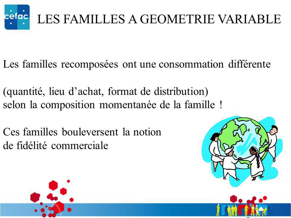 LES FAMILLES A GEOMETRIE VARIABLE
