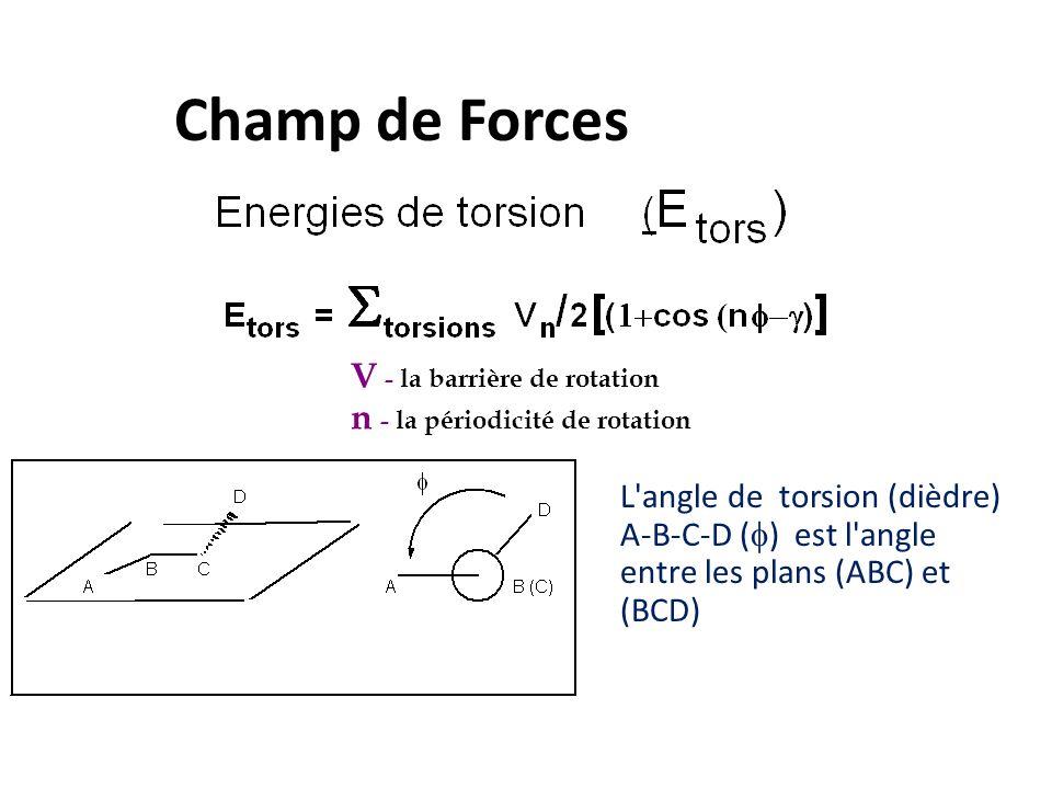 Champ de Forces V - la barrière de rotation