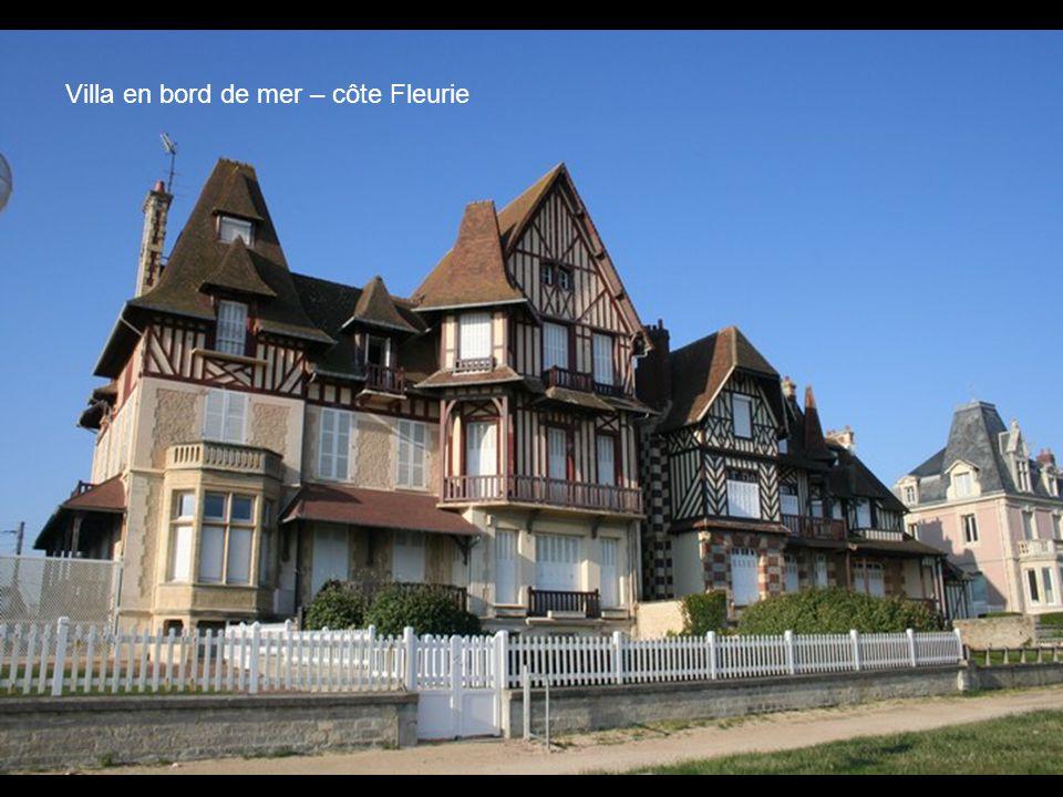 Villa en bord de mer – côte Fleurie