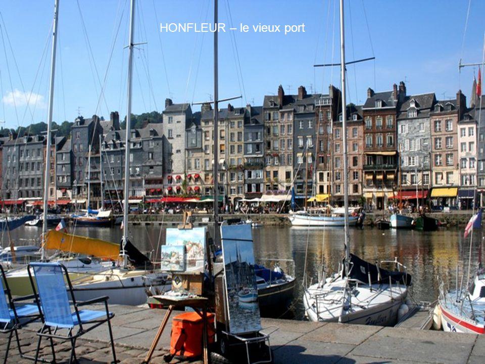 HONFLEUR – le vieux port