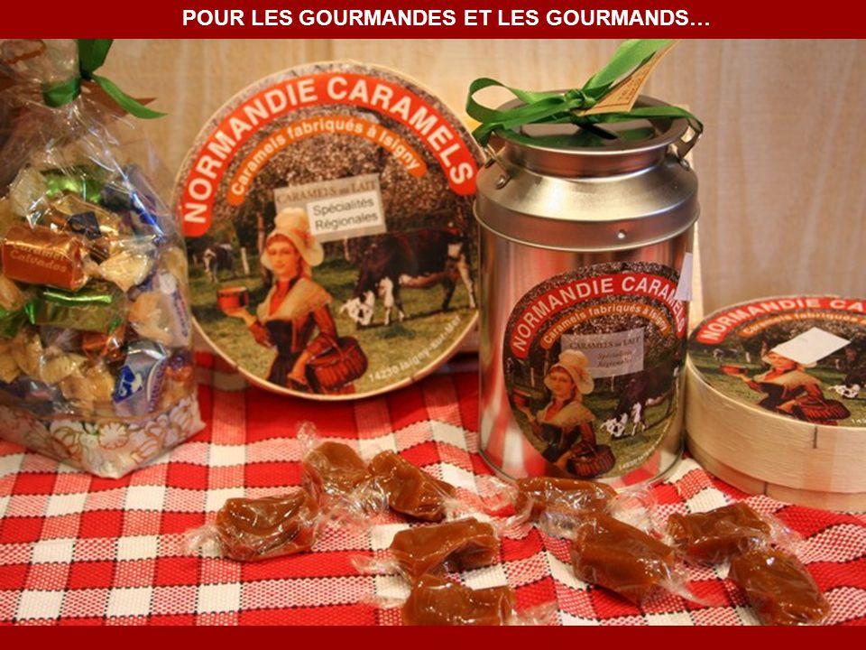POUR LES GOURMANDES ET LES GOURMANDS…