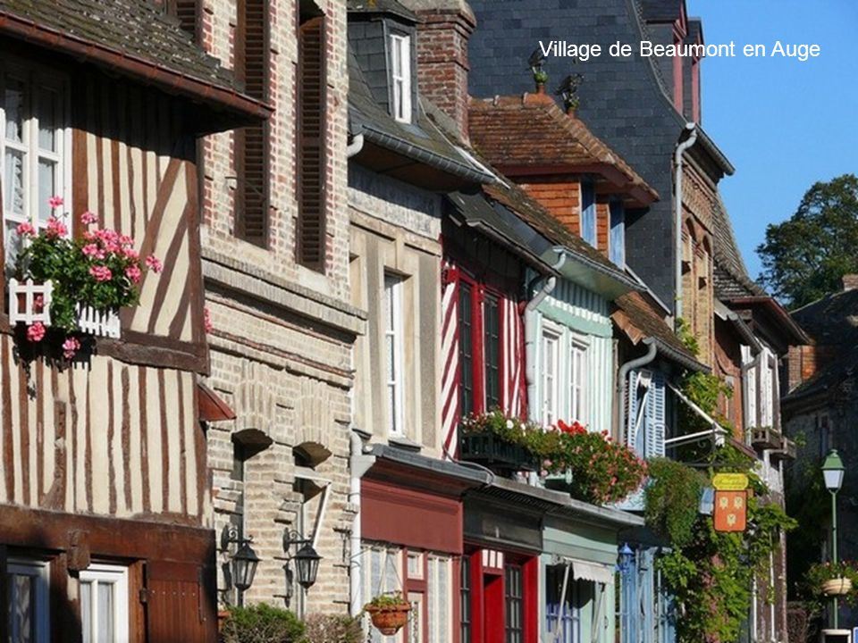 Village de Beaumont en Auge