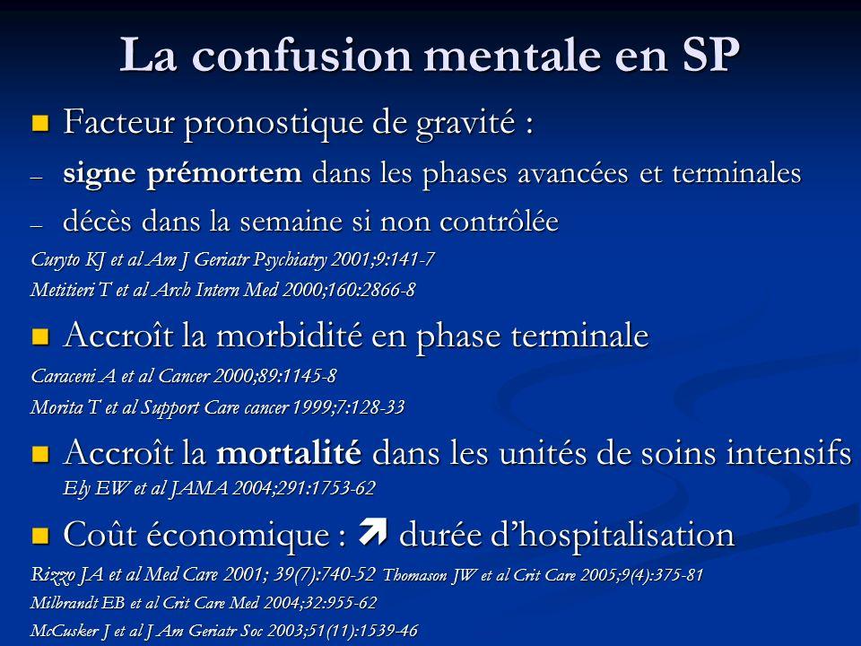 La confusion mentale en SP