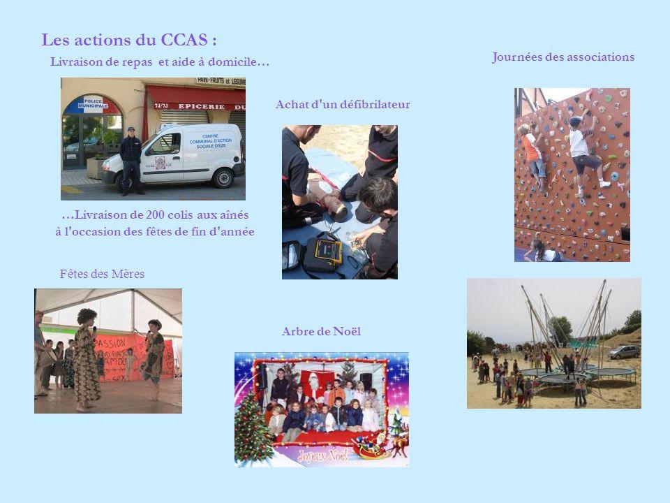 Les actions du CCAS : Journées des associations