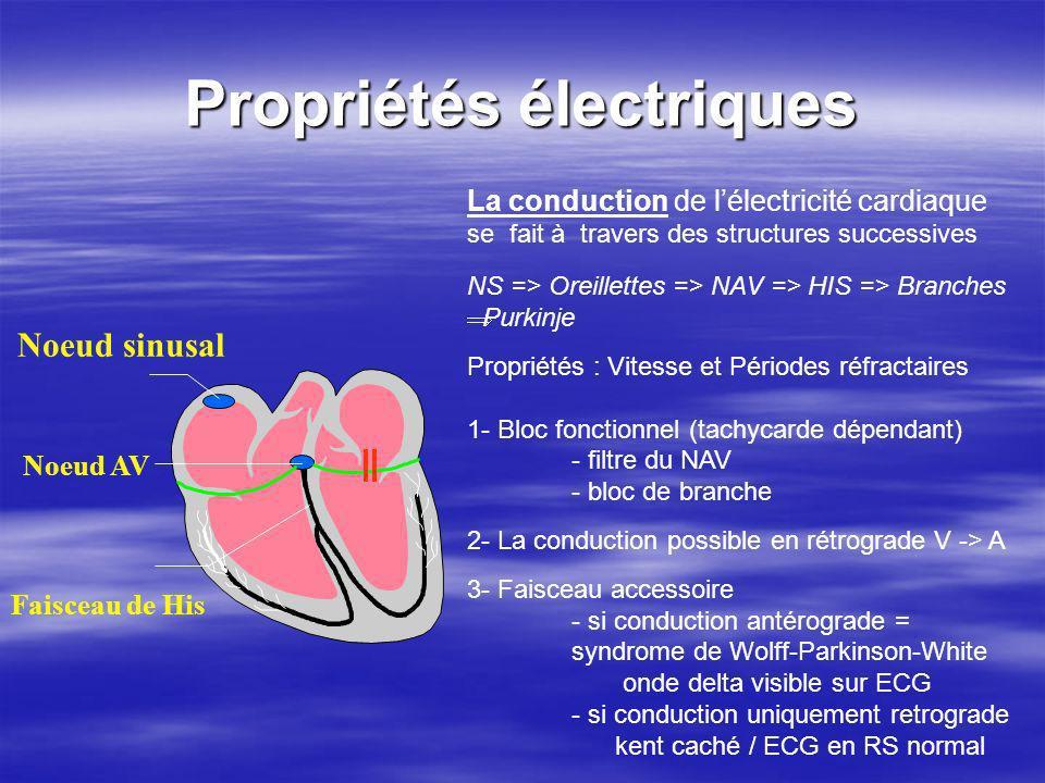 Propriétés électriques