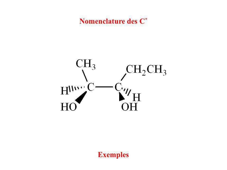Nomenclature des C* Exemples