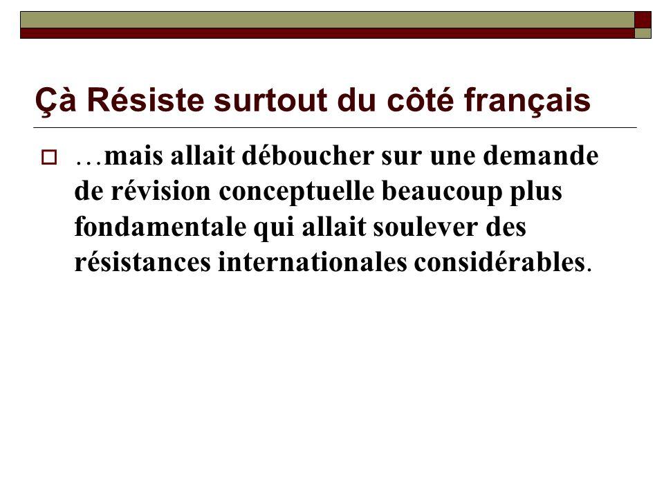 Çà Résiste surtout du côté français