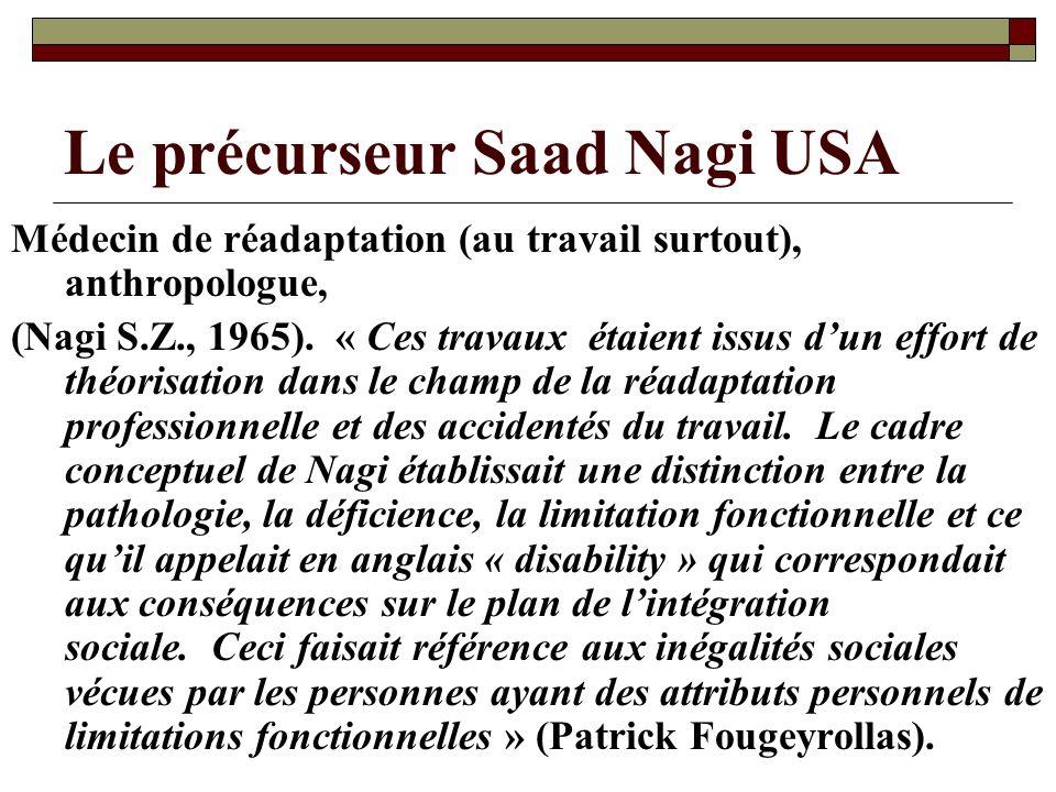 Le précurseur Saad Nagi USA