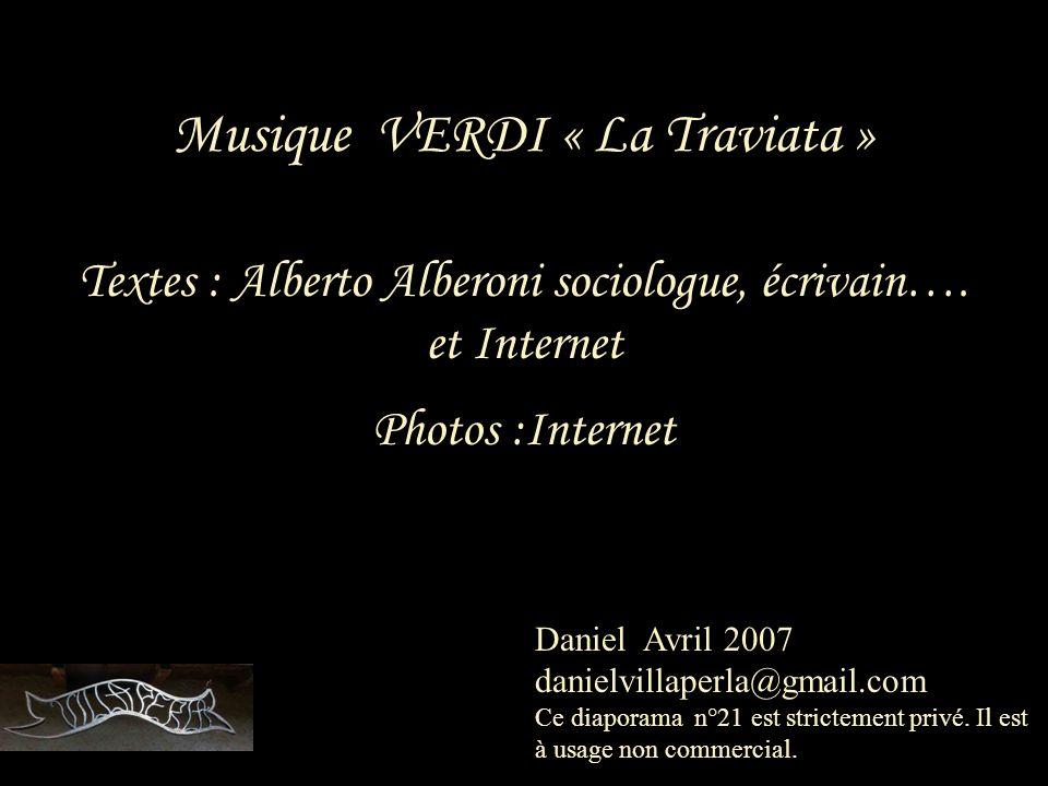 Musique VERDI « La Traviata »