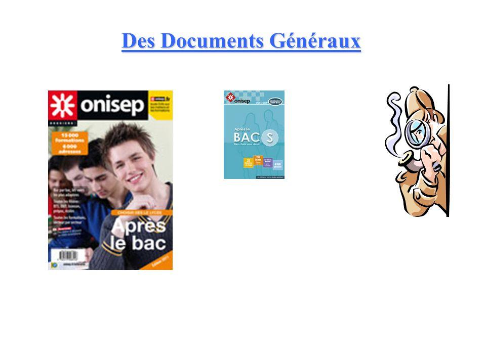 Des Documents Généraux