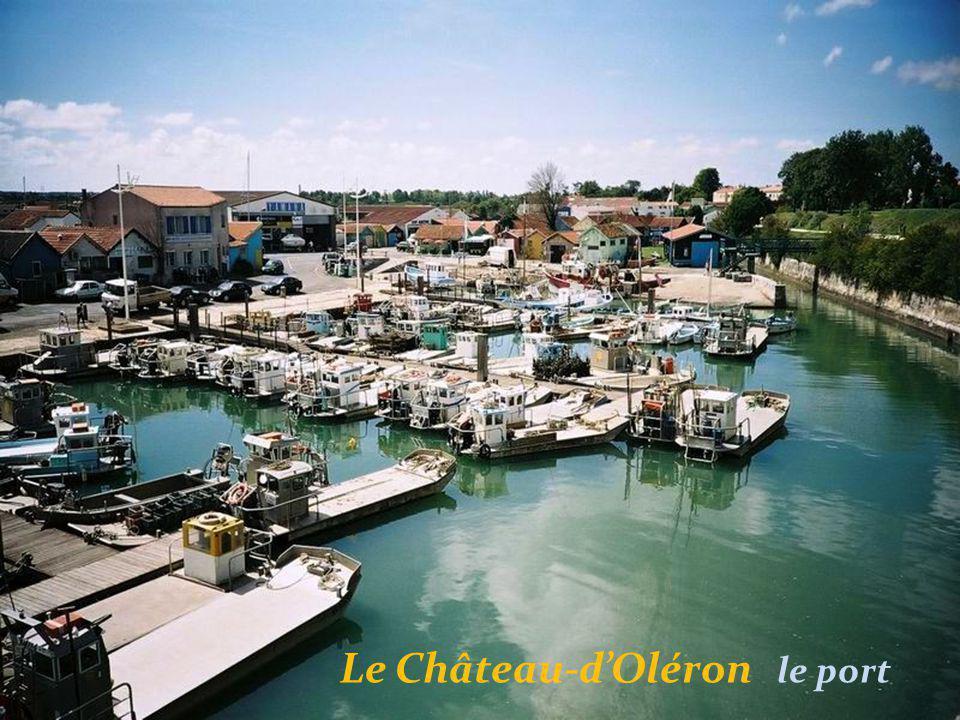 Le Château-d'Oléron le port