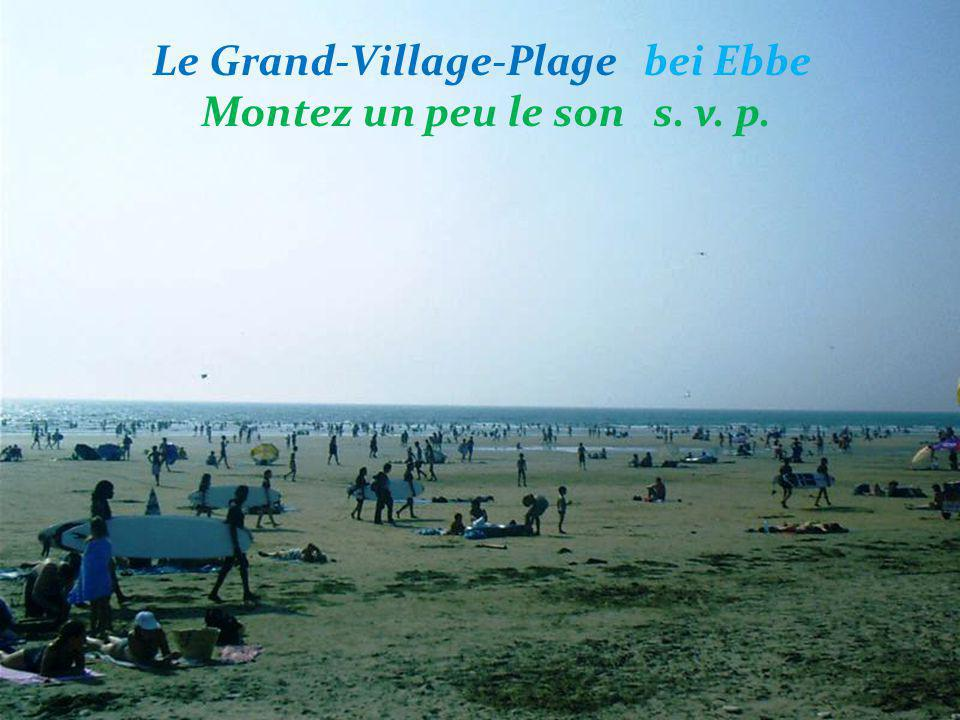 Le Grand-Village-Plage bei Ebbe