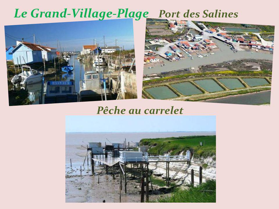 Le Grand-Village-Plage Port des Salines