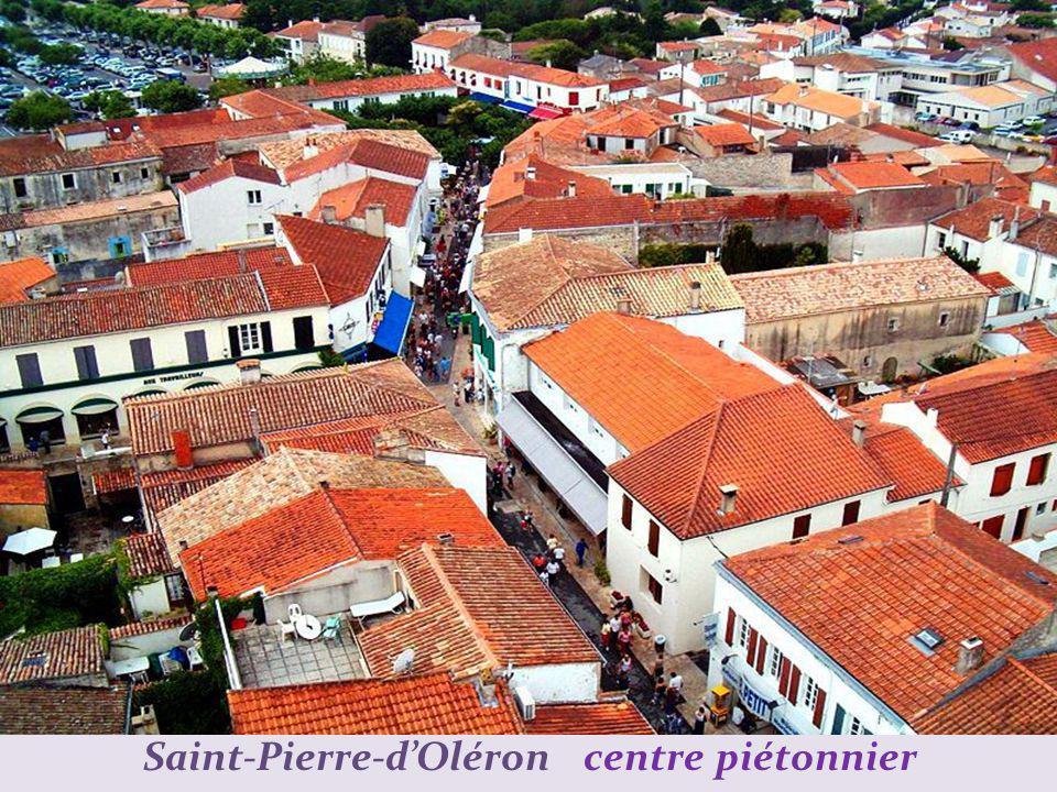 Saint-Pierre-d'Oléron centre piétonnier