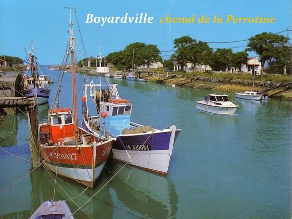 Boyardville chenal de la Perrotine