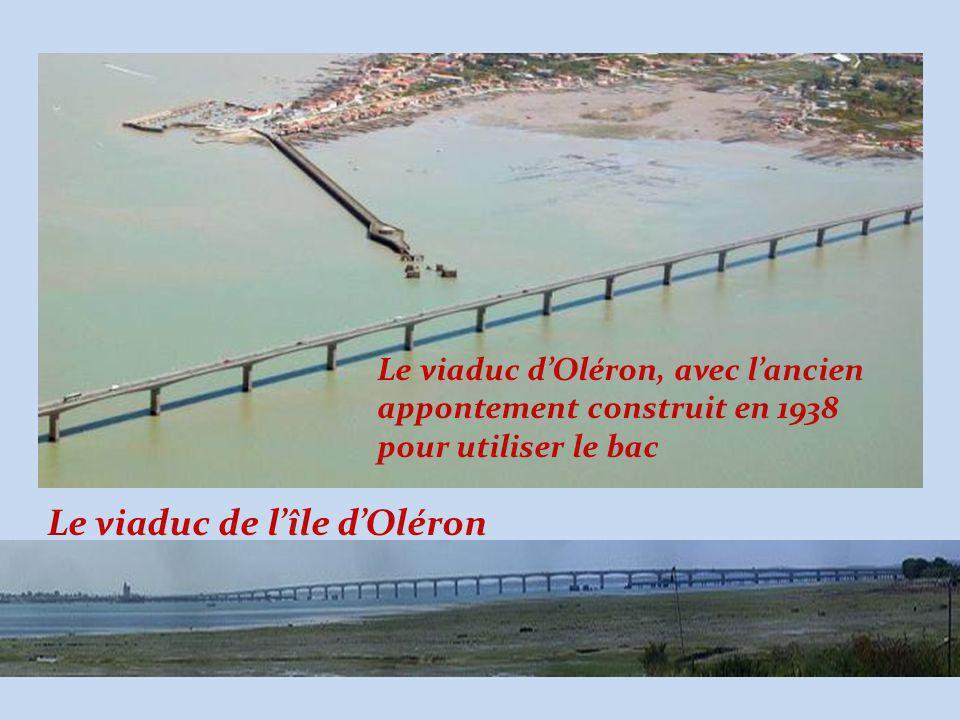 Le viaduc de l'île d'Oléron