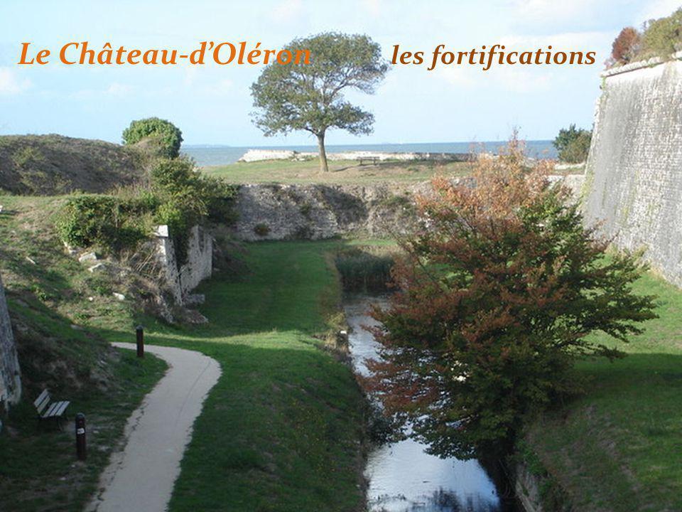 Le Château-d'Oléron les fortifications