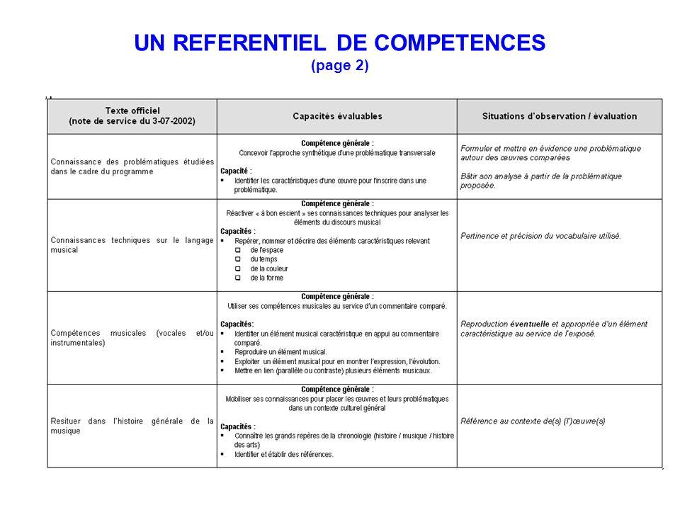 UN REFERENTIEL DE COMPETENCES (page 2)