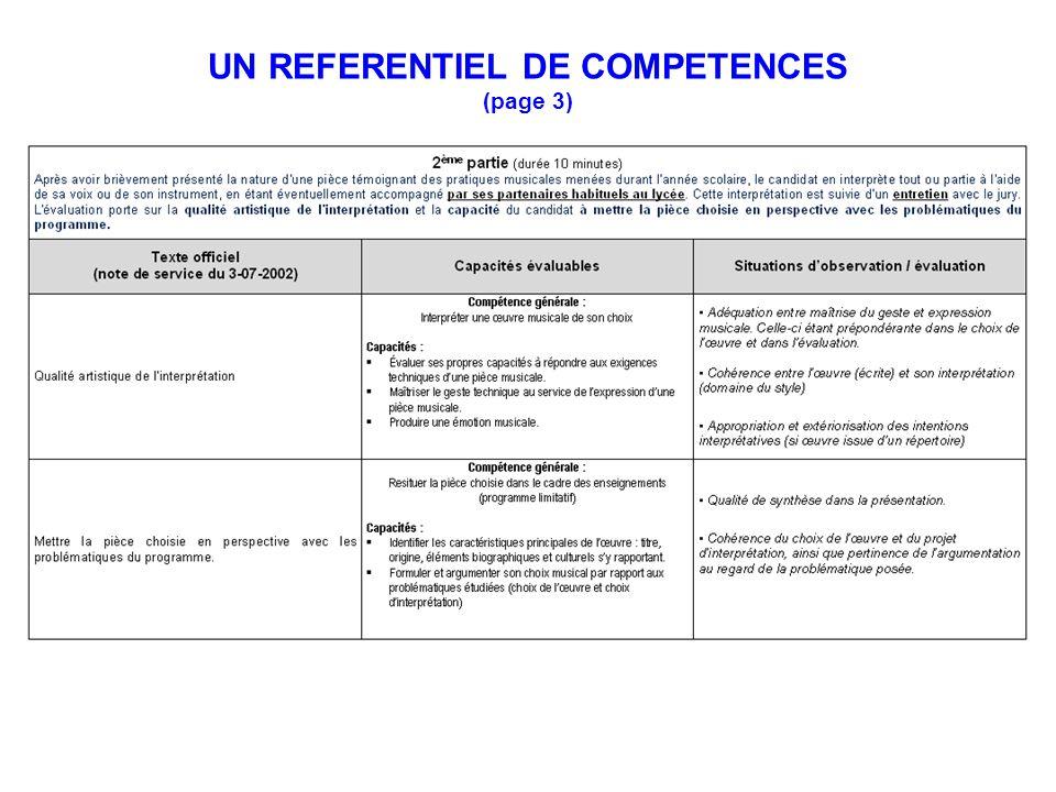 UN REFERENTIEL DE COMPETENCES (page 3)