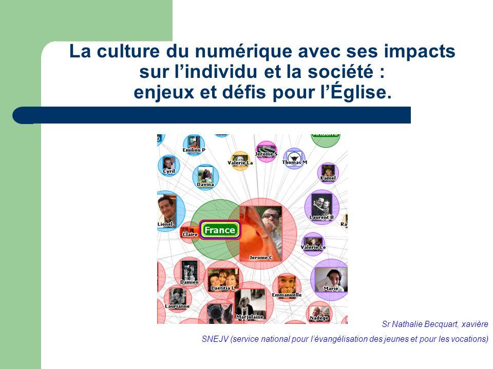 La culture du numérique avec ses impacts