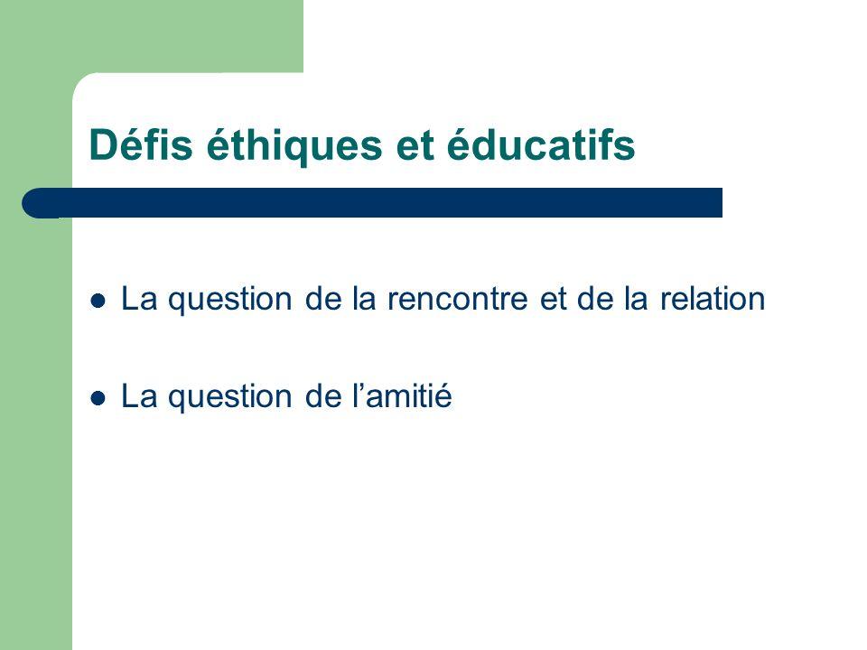 Défis éthiques et éducatifs
