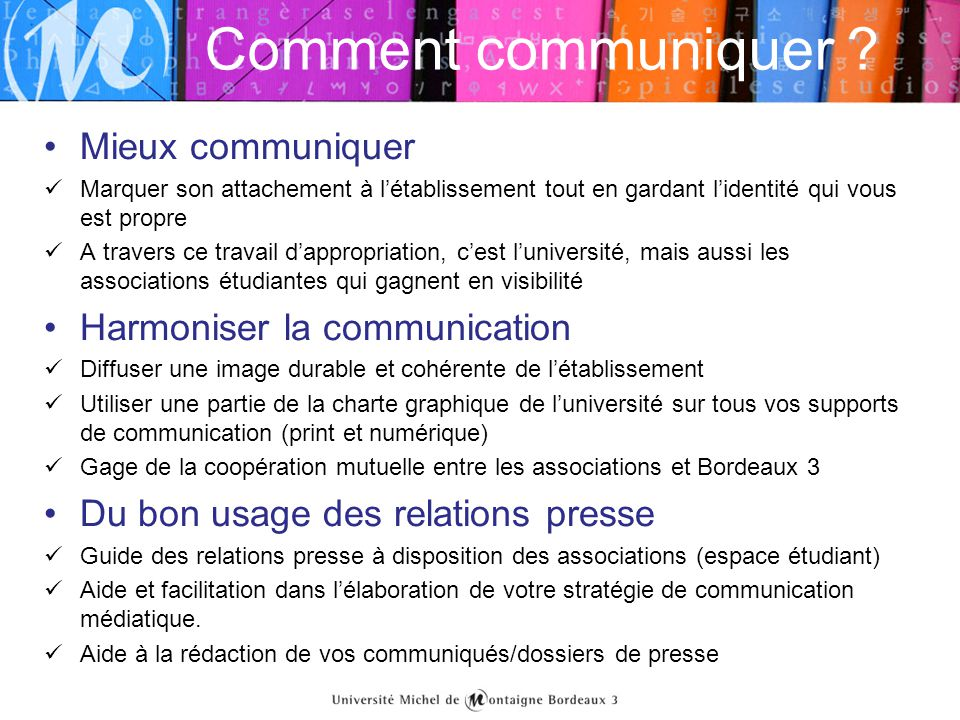 Comment communiquer Mieux communiquer Harmoniser la communication