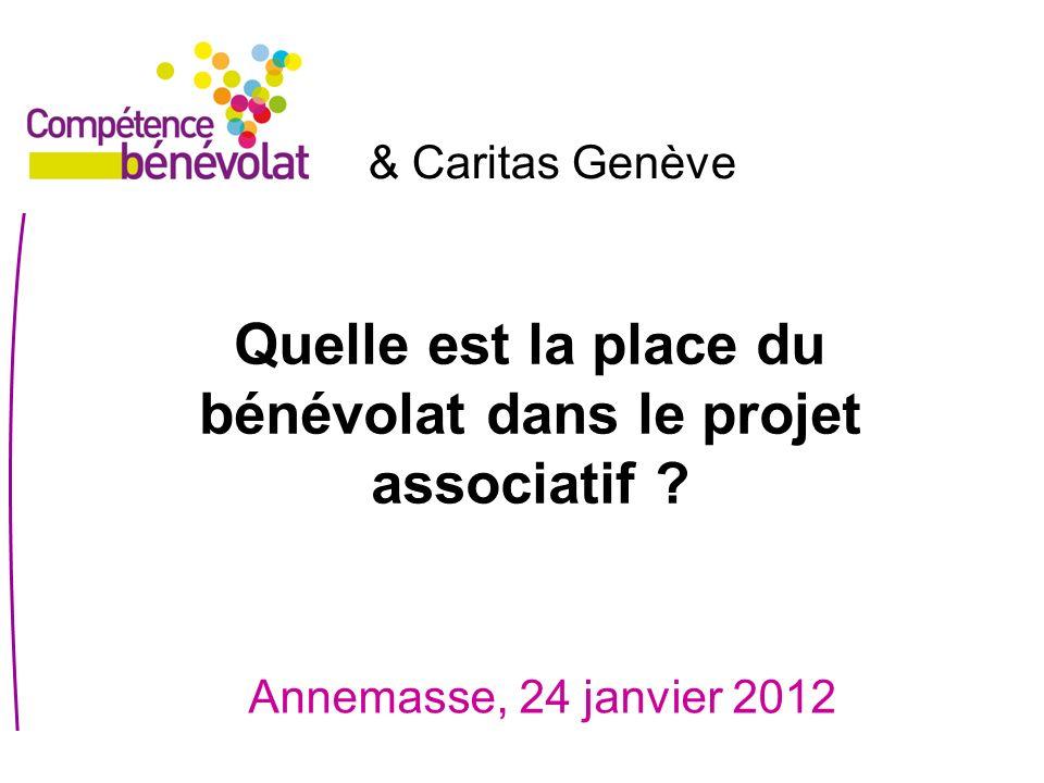 Quelle est la place du bénévolat dans le projet associatif