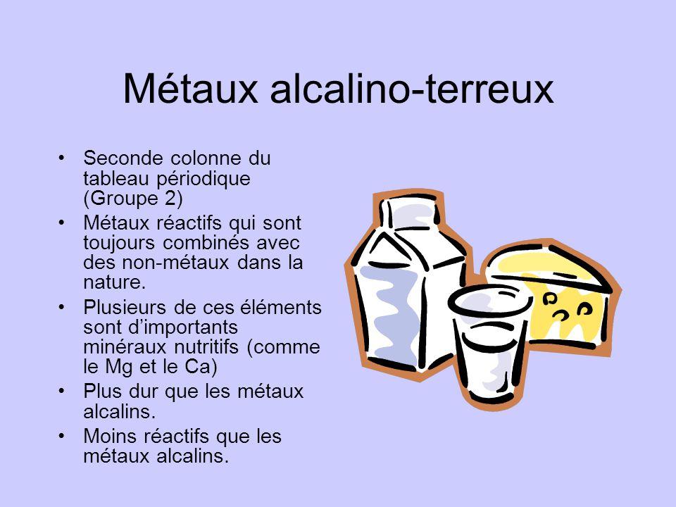 Métaux alcalino-terreux
