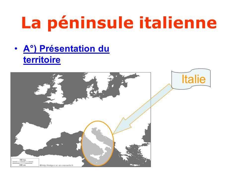 La péninsule italienne