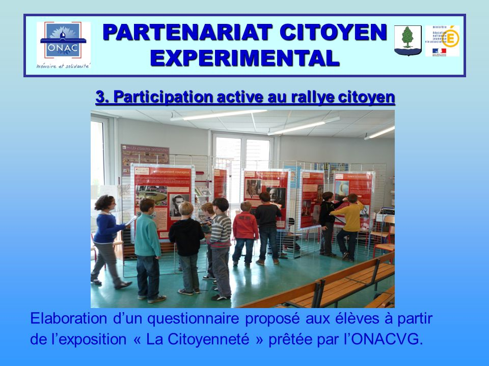 3. Participation active au rallye citoyen